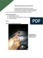 Tutorial Modificación Corriente Alterna a Directa CB110