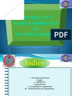 ensamblajeymantenimientodecomputadoras-120706115936-phpapp01