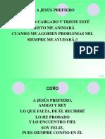 A Jesús Prefiero