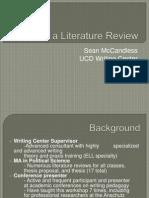 Lit Review Presentation.ppt