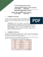 Bank of the Philippine Islands vs Casa Montessorri Internationale