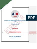 Estatuto y RI- APF Del Colegio Frances Revisado 22-09-2014