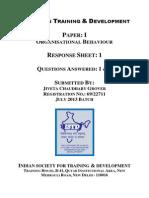 Paper 1 OB Sheet 1