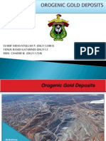 Orogenic Gold Deposit