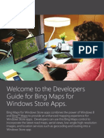 BingMaps for Windows Store Apps Developer Guide Final