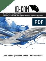 BobCADCAM V27 Brochure