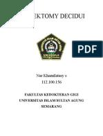 Pulpektomy Decidui Paper