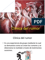Clínica Del Rumor