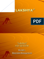 AS IS -TO BE  LAKSHYA r