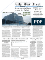 The Daily Tar Heel for Sept. 26, 2014