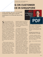Competing on Customer Experience - Commentary Sep 2013