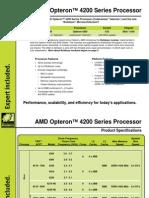 AMD Opteron™ 4200 Series Processor Guide, Silicon Mechanics