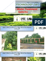 Photos of Soil Biotechnology (SBT) based Sewage and Effluent Treatment Plants set up by Life Link Eco Technologies Pvt. Ltd.