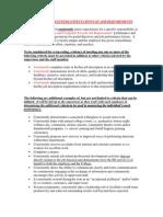 Staff Criteria 2010-2011