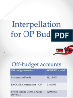 Pork Barrel Funds in PNoy's 2015 Budget