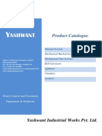 Yashwant Screens, Conveyers & Other Products