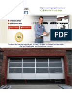 Brampton Garage Door Repair | Toronto Garage Door Repair | Vaughan Garage Door Repair | Mississauga Garage Door Repair, Installation & Opener Services