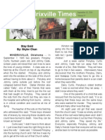 The Outsider's Newspaper Article By