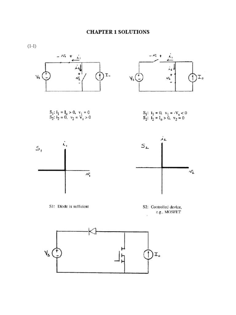 daniel hart power electronics chapter 1 solutions rh pt scribd com power electronics daniel w hart solution manual rar solution manual power electronics daniel w hart pdf