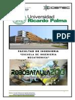 Robobatalla Universidad Ricardo Palma