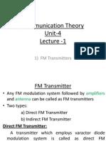 Communication Theoryunit4