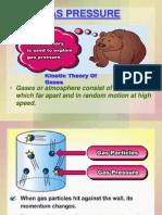 Atmospheric Pressure & Gas Pressure