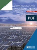 Clean Energy Infrastructure Brochure