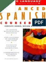 Advanced Spanish Coursebook