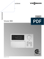 Viessmann Vitotrol 300 Remote Control