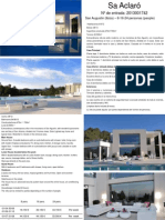 SA ACLARÓ - 8-16-24 pax -2014