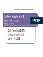 Mpeg File Formats