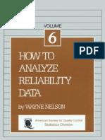 1166564 C12A3 Nelson w How to Analyze Reliability Data