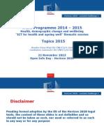OverviewofallICTtopicsforandconsiderationsofethicalissuesanddatatreatmentforpilotsDrAmalia-IrinaVladEuropeanCommission