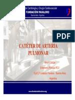 Cateter de Arteria Pulmonar - Fundacion Favaloro