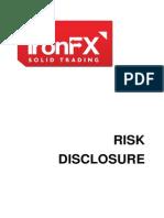 Risk Disclosure