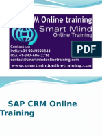 SAP CRM online training | Online  SAP CRM Training in usa, uk, Canada, Malaysia, Australia, India, Singapore.