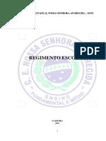 regimento escolar 2012 aprovado