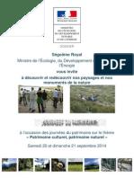 JEP2014 Dossier de Presse