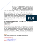 International Journal of Research & Review (IJRR)