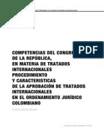 Competencia Del Conreso en Materia de Tratados Internacionales