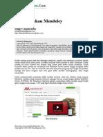 12 Langkah Menggunakan Mendeley