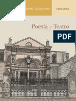 POESIA Y TEATRO. 1 - Sociedad Dominicana de Bibliofilos
