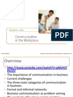 Business Communication Lesikars Powerpoint Chapter-1,3&5