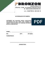 autorizaçao