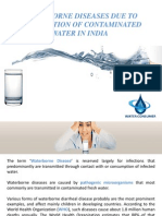 Water Borne Diseases India