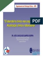 1_O Laboratorio Clinico Nas Coagulopatias