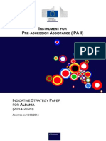 Indicative Strategy Paper for Albania (2014-2020)