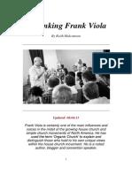 Rethinking Frank Viola