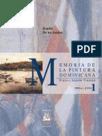 MEMORIA DE LA PINTURA DOMINICANA Vol 1