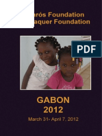 Humanitarian trip Gabon 2012